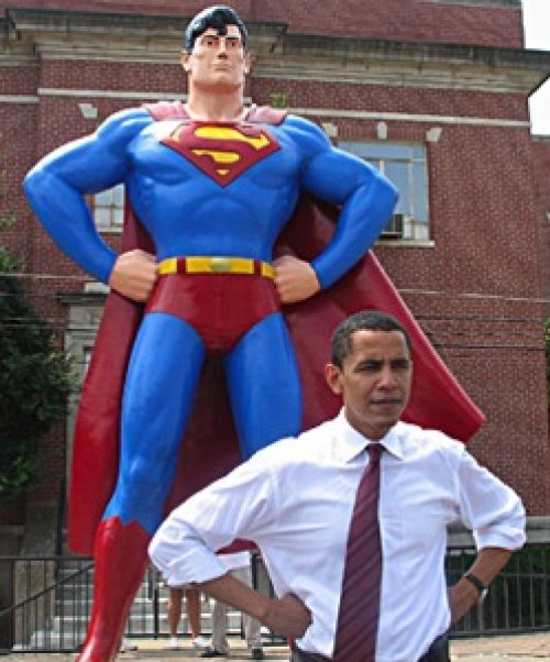 BARACK OBAMA SALVEREMO SUPERMAN CON LE CELLULE STAMINALI.